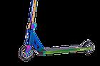 Оригинальный трюковый самокат Longway Summit full neochrome. Гарантия на раму. Рассрочка. Kaspi RED, фото 4