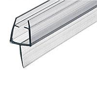 Профиль DG-3 уплотнительный прозрачный белый для душевой | 2200мм.| FGD-90 CL, фото 1