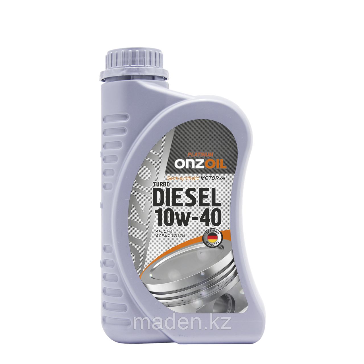 Моторное масло ONZOIL 10W40 Turbo Diesel Lux CF-4 0.9