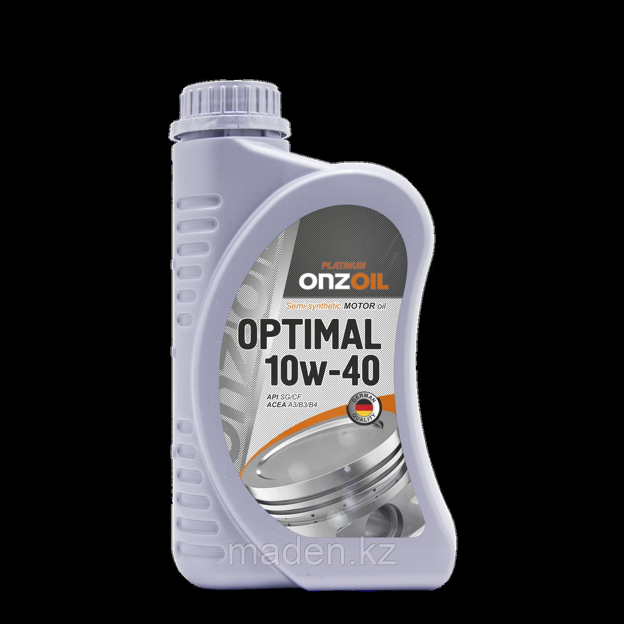 Моторное масло ONZOIL 10W40 SG/CF 0.9