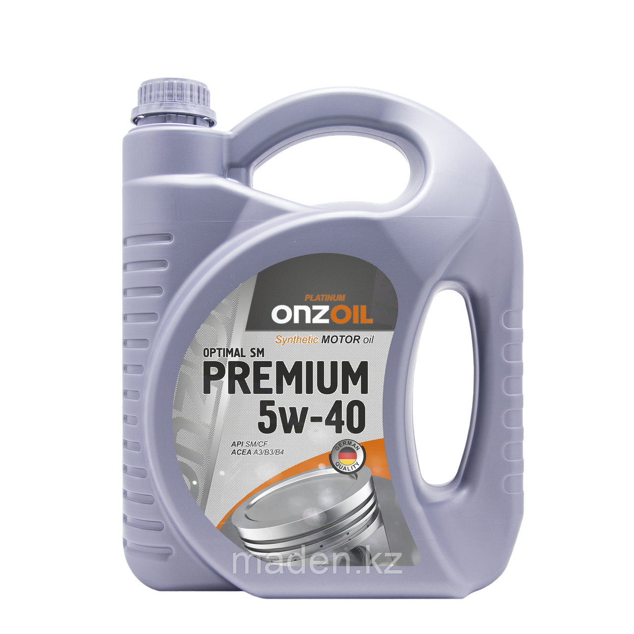 Моторное масло ONZOIL 5W40 SM/CF 4.5л