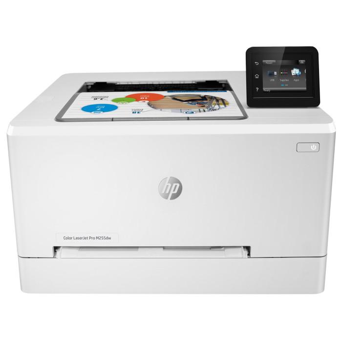 HP 7KW64A Принтер лазерный цветной Color LaserJet Pro M255dw (A4)