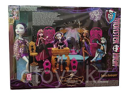 """Игровой набор """" Кукла Спектра Вондергейст Monster High Y7720"""
