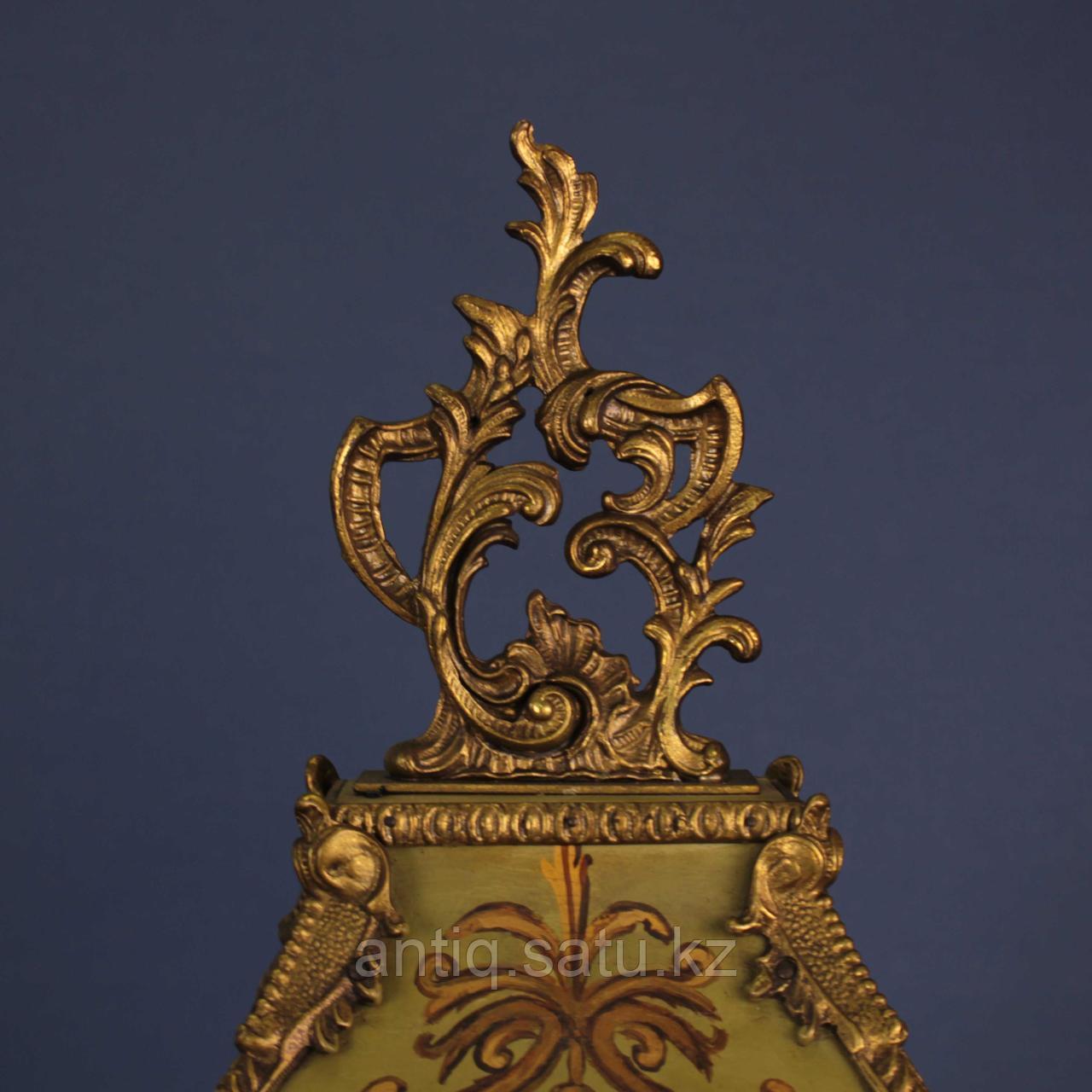 ЧАСЫ В ТЕХНИКЕ BOULLE. Происхождение Франция. II половина XIX века. - фото 3