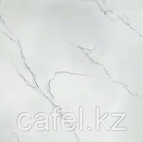 Керамогранит 60х60 белый под мрамор глянцевый