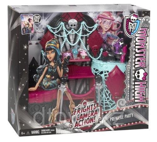 Набор игровой Monster High Серия Монстры! Камера! Мотор! BDD89/BDD91