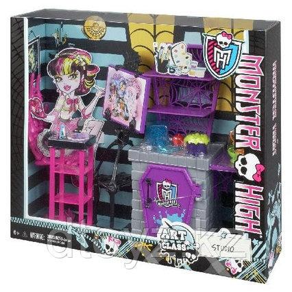 Набор игровой Monster High Студия Дракулауры Художественный Класс BDD81 / BDD83