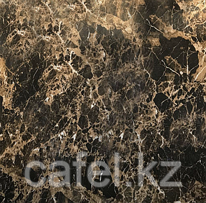 Керамогранит 60х60 черный под мрамор глянцевый