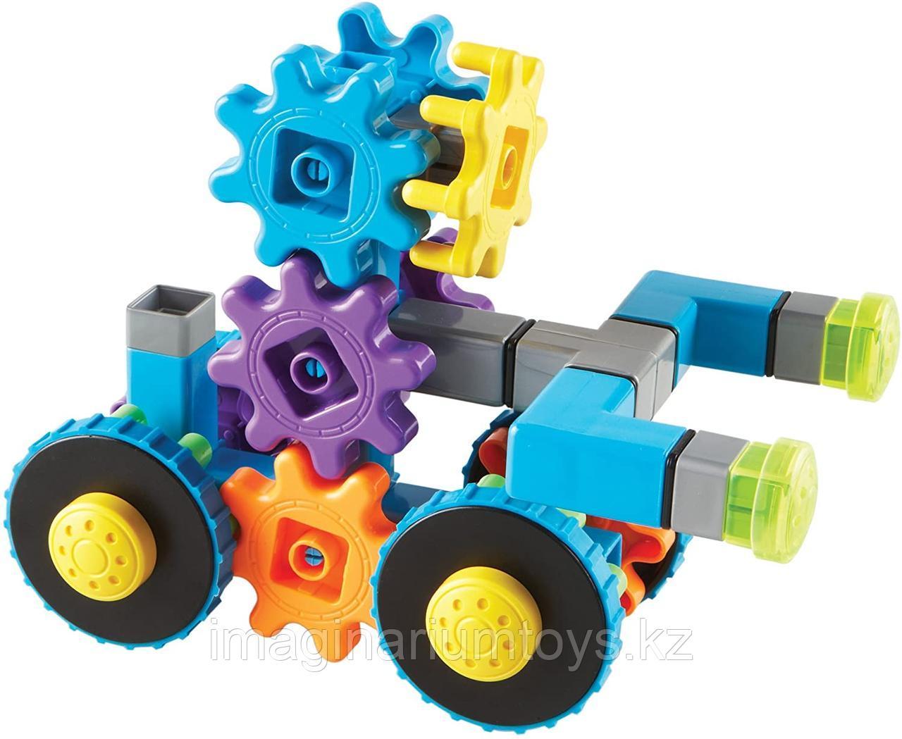 Развивающий конструктор Gears «Веселые шестеренки. Машинка»  Learning Resources