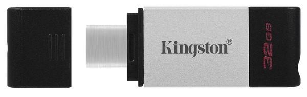 Kingston DT80/32GB USB-накопитель DataTraveler 80 USB-С 32GB металл
