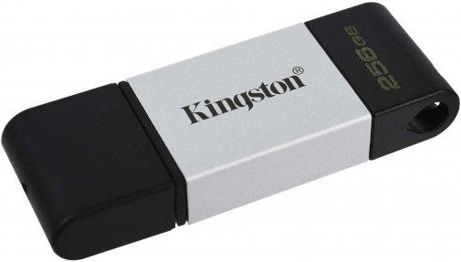 Kingston DT80/256GB  USB-накопитель DataTraveler 80 USB-С 128GB металл