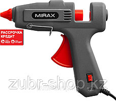Пистолет клеевой (термоклеящий) электрический, MIRAX 06807, 200Вт/350Вт, 220В, 11мм (06807)