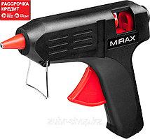 MIRAX. Пистолет клеевой (термоклеящий) электрический, 60Вт/220В, 11мм (06805)