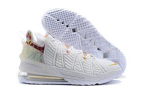 Баскетбольные кроссовки Nike LeBron 18 ( XVIII) White