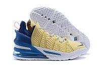 Баскетбольные кроссовки Nike LeBron 18 ( XVIII) Blue\Beige