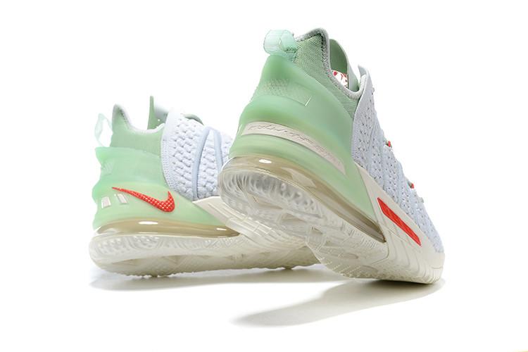 Баскетбольные кроссовки Nike LeBron 18 ( XVIII) Gray - фото 3