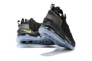 Баскетбольные кроссовки Nike LeBron 18 ( XVIII) Black\Gold (36-46), фото 2