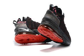 Баскетбольные кроссовки Nike LeBron 18 ( XVIII) Black\Red, фото 2