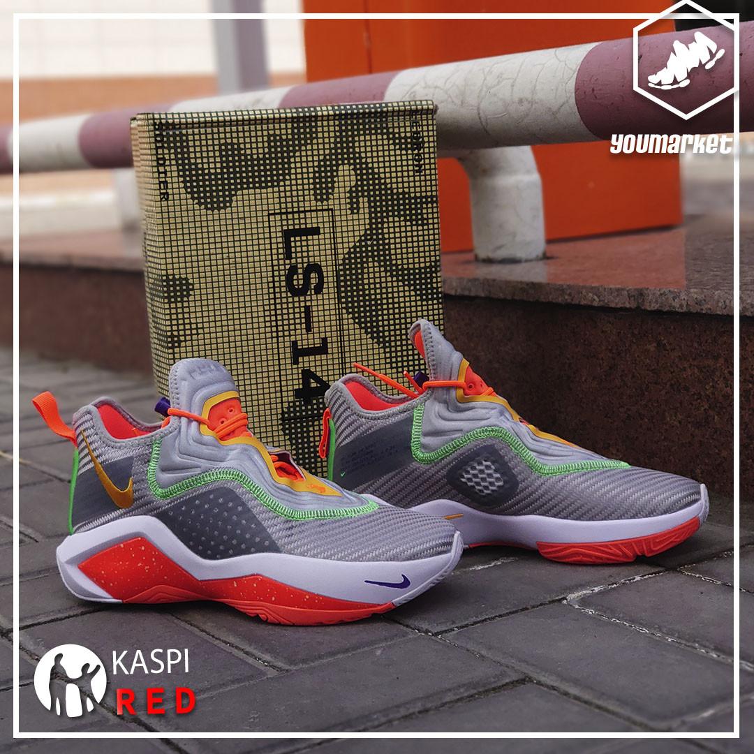 Баскетбольные кроссовки Nike LeBron Soldier 14 ( XIV ) Gray\Orange 36-46 - фото 2
