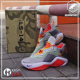 Баскетбольные кроссовки Nike LeBron Soldier 14 ( XIV ) Gray\Orange 36-46
