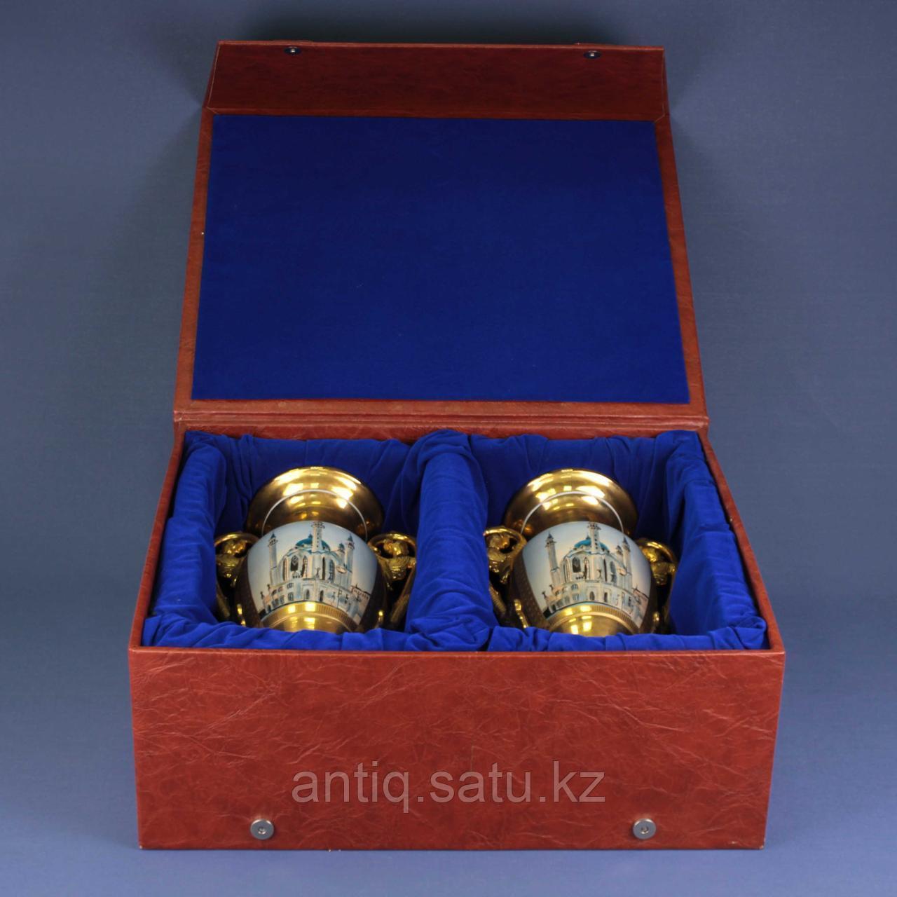 Парные вазы В восточной тематике - фото 2