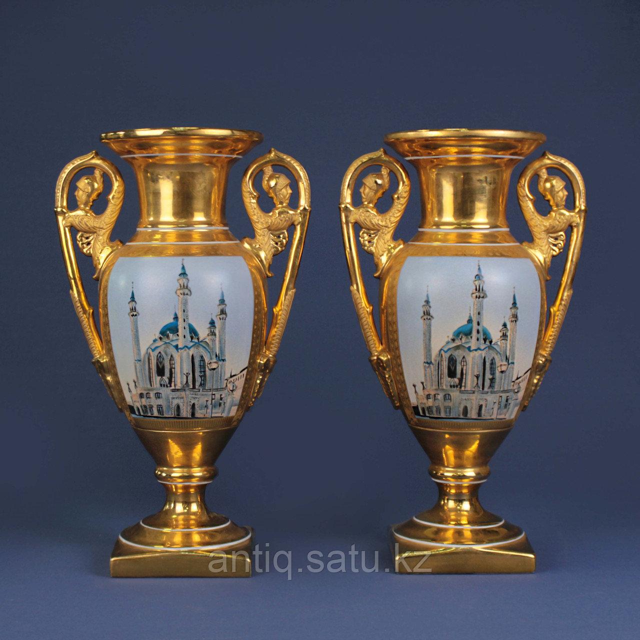 Парные вазы В восточной тематике - фото 1