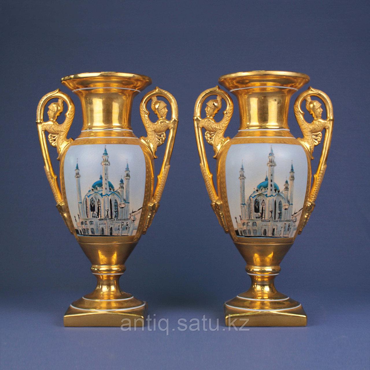Парные вазы В восточной тематике - фото 7