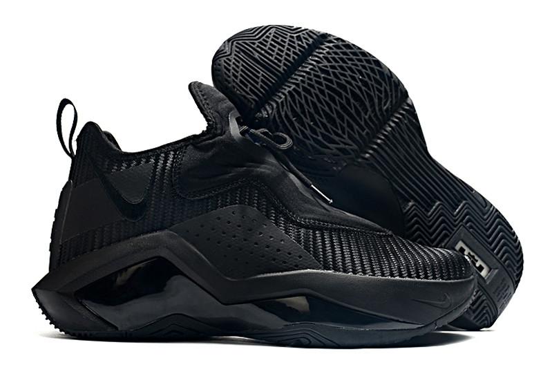 Баскетбольные кроссовки LeBron Soldier 14 ( XIV ) Black - фото 1