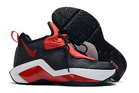 Баскетбольные кроссовки LeBron Soldier 14 ( XIV ) Black\Red