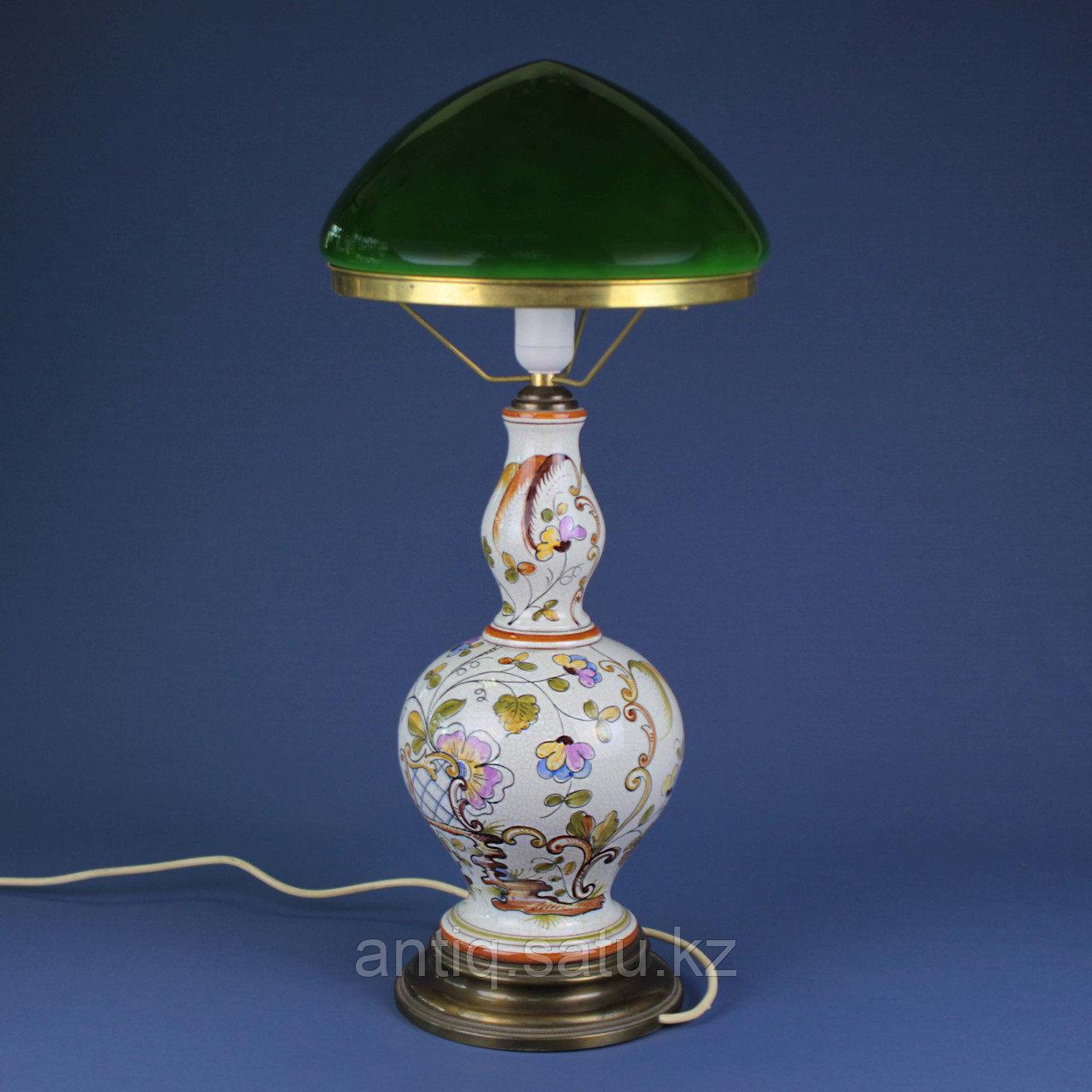 Лампа из итальянской мойолики. - фото 6