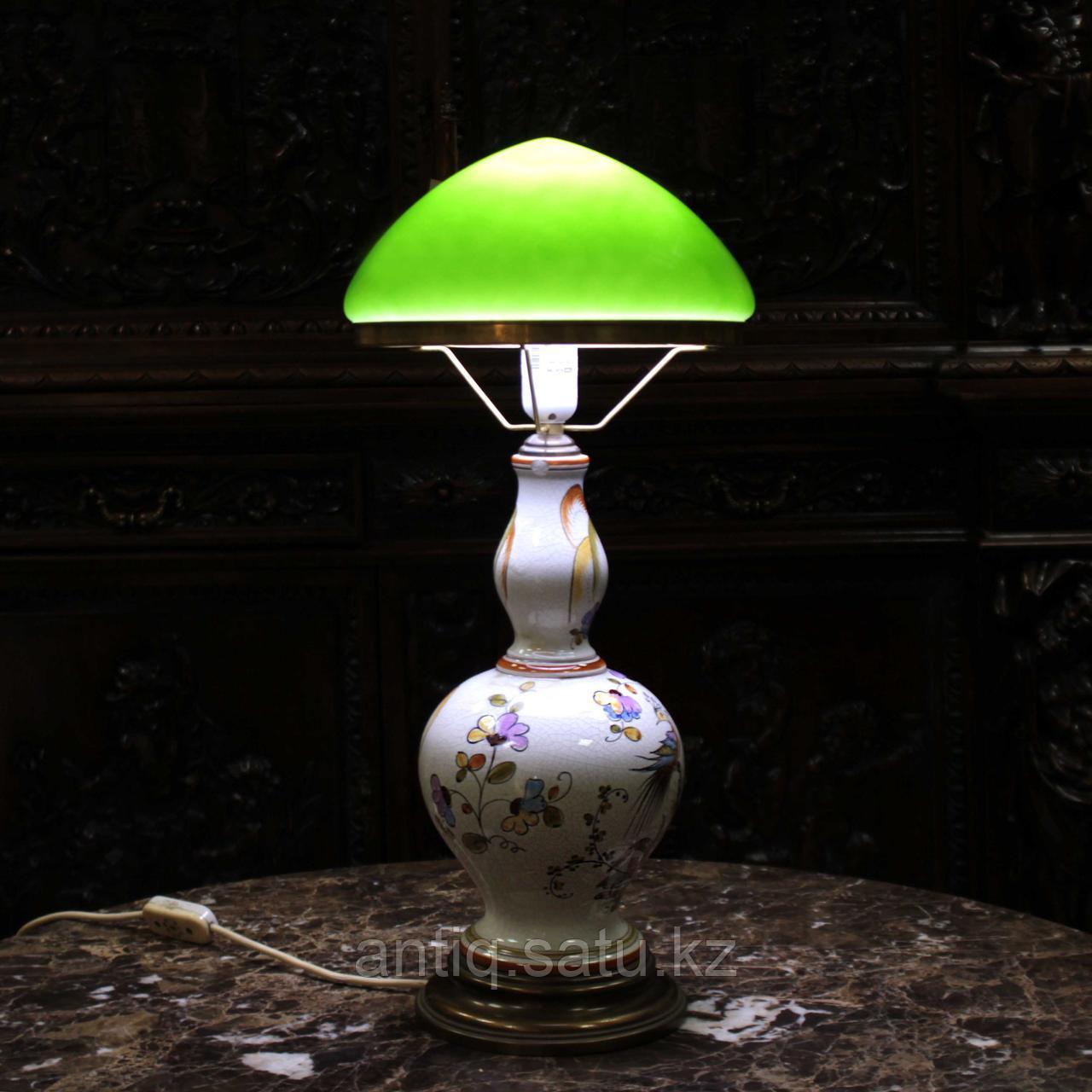 Лампа из итальянской мойолики. - фото 5