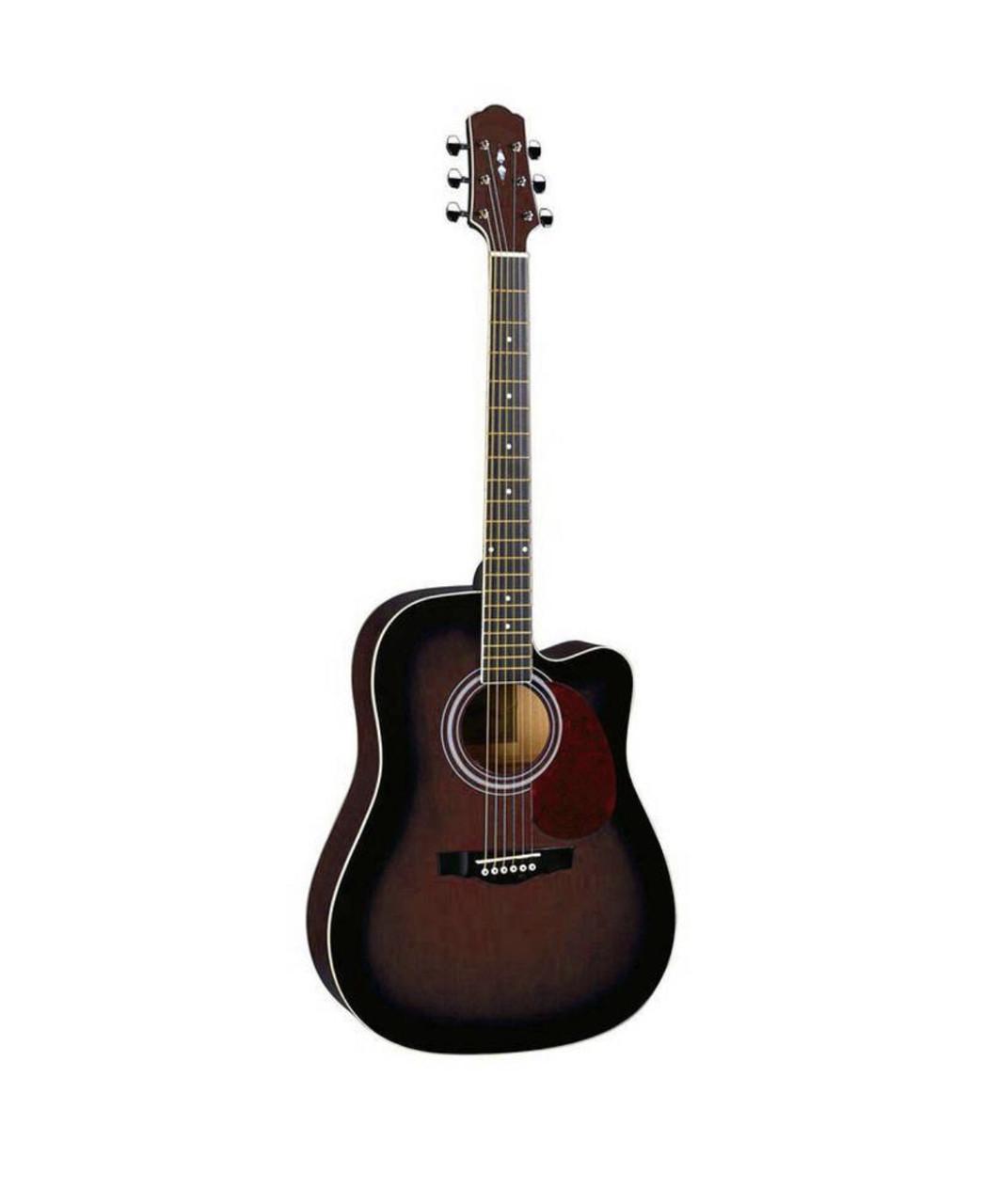 Акустическая гитара с вырезом Naranda DG120CWRS