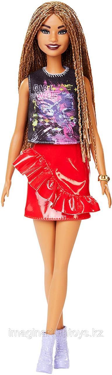 Кукла Барби модница с косичками #123