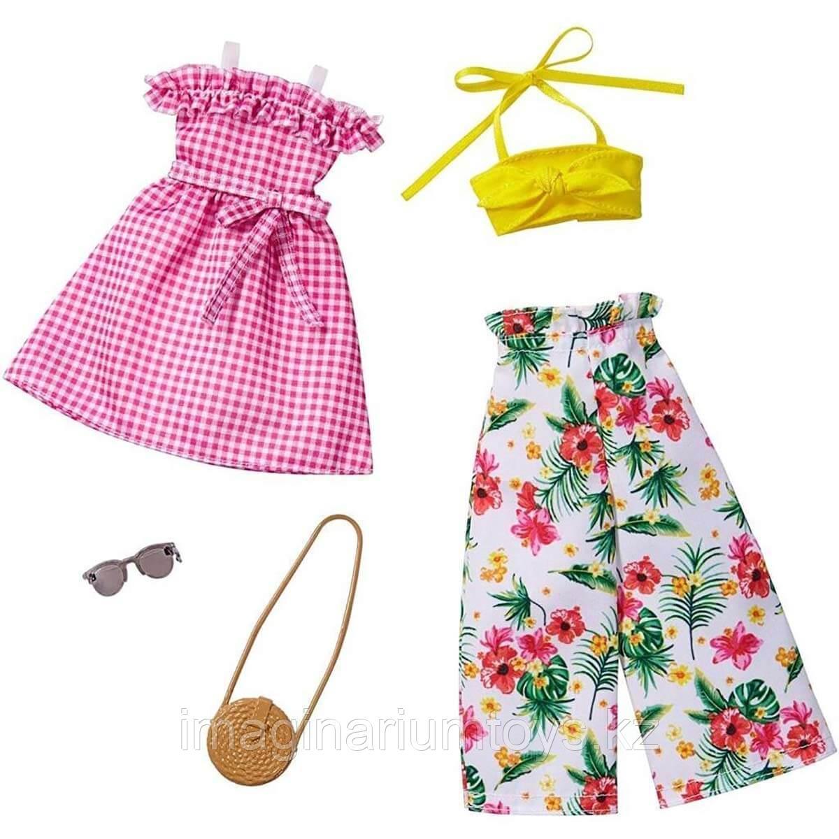 Летняя одежда для куклы Барби новинка 2020 FYW84