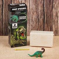Набор археолога серия с фигуркой-игрушкой динозавра 'Сейсмозавр'