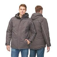 Куртка мужская, размер 58, цвет тёмно-серый