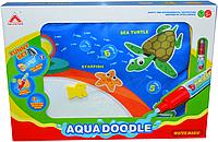 Немного помят!!!! 86009 Аква коврик рисование водой Aqua Doodle 35*50, фото 1