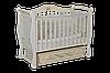 Детская кроватка Антел Julia 11 слоновая кость, универсальный маятник