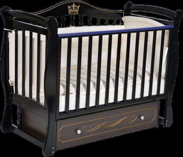 Детская кроватка Антел Julia 11 Шоколад