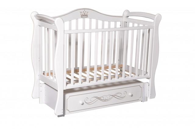 Детская кроватка Антел Julia 11 Белый