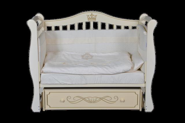 Детская кроватка Антел Julia 11 Слоновая кость