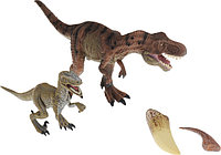 """Collecta Набор фигурок """"Динозавры: Тираннозавр и Велоцираптор"""", с когтями"""