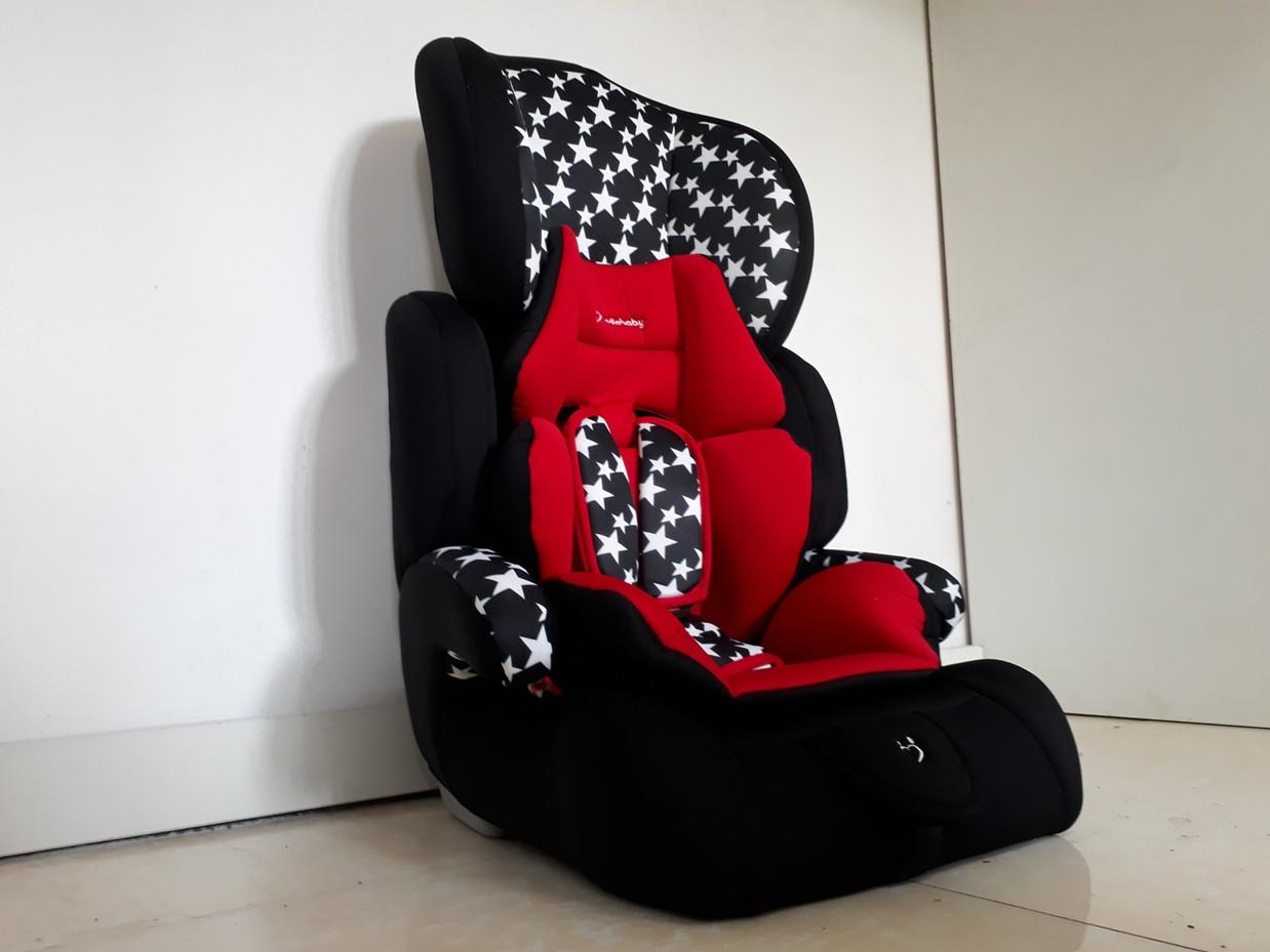Детское каркасное автокресло 9-36 кг. С 9 месяцев до 12 лет.