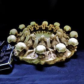 Пепельница лежащие Скелеты