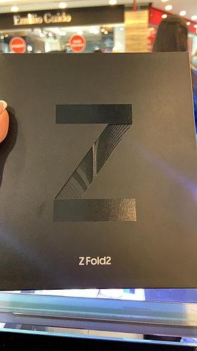 Смартфон Samsung Galaxy Z Fold2 12/256Gb черный
