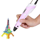 3D ручка 2 поколения для рисования С LCD Дисплеем, фото 5