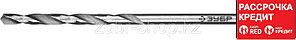 ЗУБР ПРОФ-В 1.9х46мм, Сверло по металлу, сталь Р6М5, класс В (29621-1.9)
