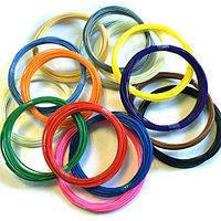 Набор PLA пластика для 3D ручки - 10 цветов, 10 метров каждый