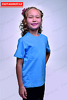 Детская футболка. Голубая., фото 1