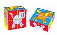 Кубики детские домашние животные, фото 6